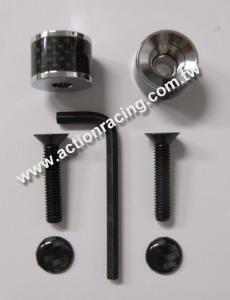 Carbon Fiber License Plate Screws AR-LPS013