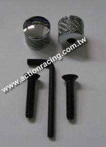 Carbon Fiber License Plate Screws AR-LPS012